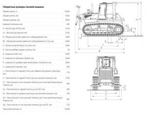 Бульдозер ТМ10 ГСТ9 Поколение 1